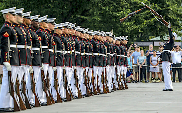 Marine Corps censoring Christian message on complaint of anti-faith group