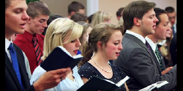 California governor bans singing in church
